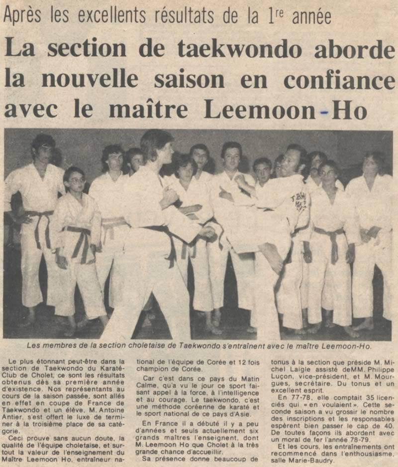 Articles parus en France entre 1978 et 1988