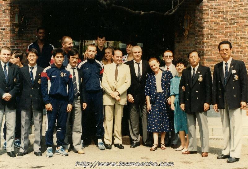 1980-1988 : Equipe Nationale de France