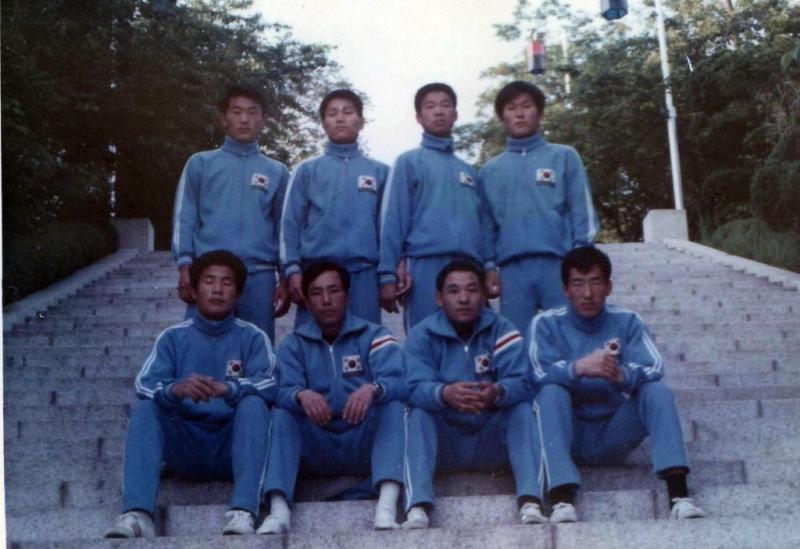 1973 : Equipe Nationale de Corée
