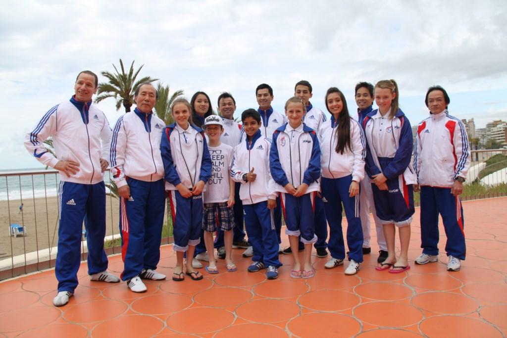 Championnats d'Europe Poomsae Espagne 2013