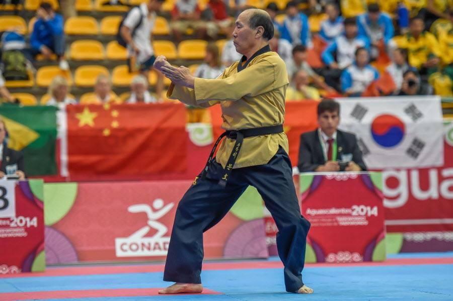 Maitre Lee Moon Ho vice champion du monde 2014 – Championnats du Monde Technique