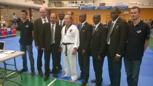 Maitre Lee Moon Ho Champion de France Technique 2015 (Auxerre)