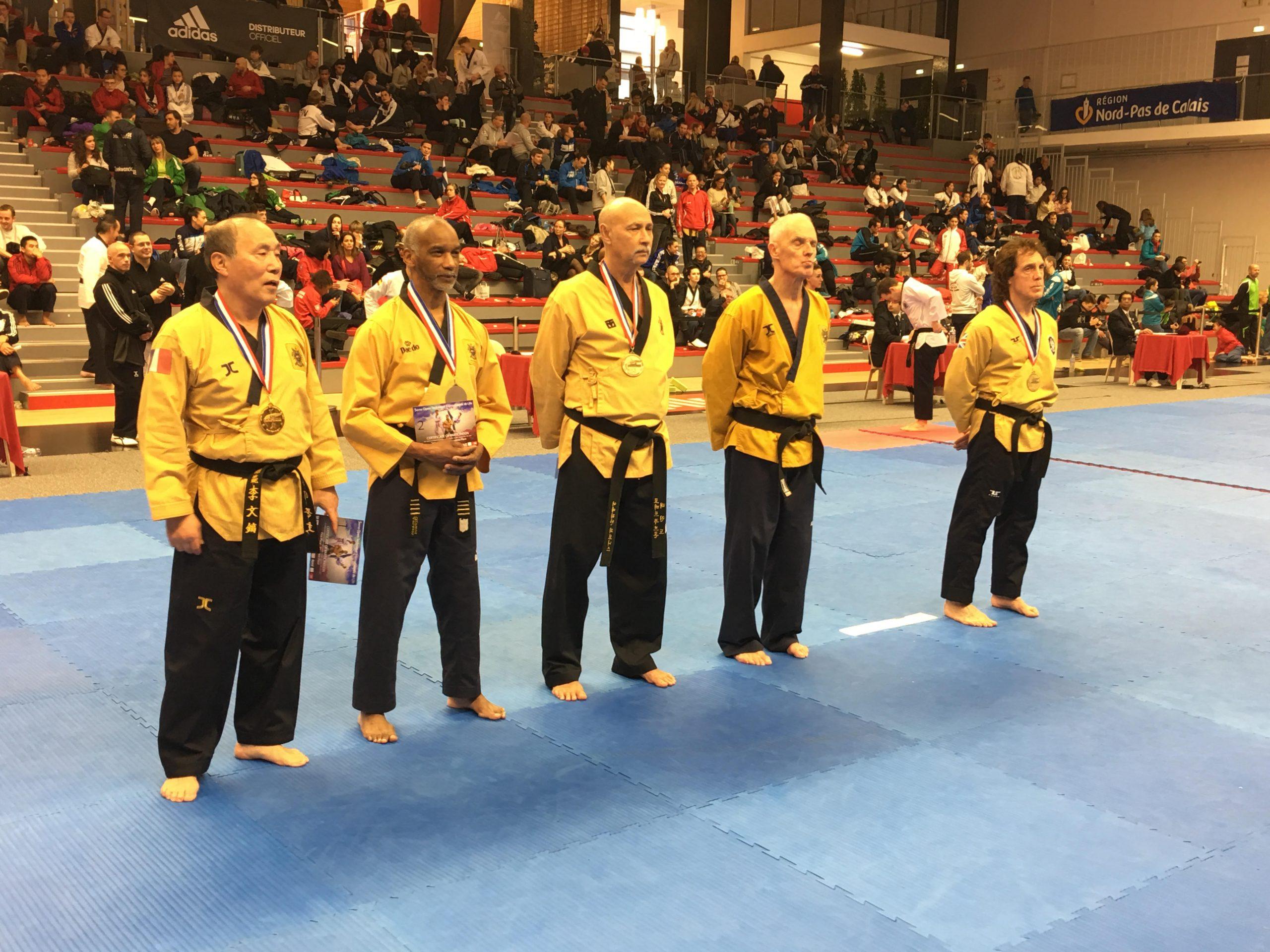 Médaillé d'or au 5E OPEN INTERNATIONAL de LILLE, France