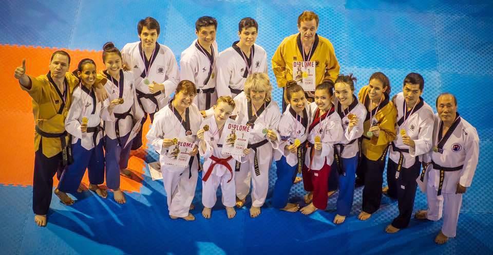 Les champions de France 2017 à Nîmes